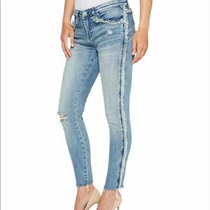 Blank NYC fray for days skinny jeans